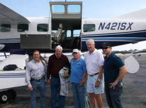 Bob Svetich, Bob Knight, Stu Apte, John Havlicek and Kevin Koenig